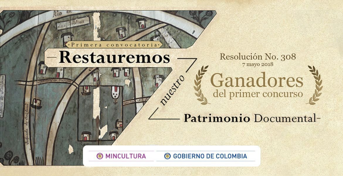"concurso ""Restauremos Nuestro Patrimonio Documental"""